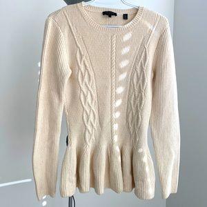 Ted Baker knit peplum sweater